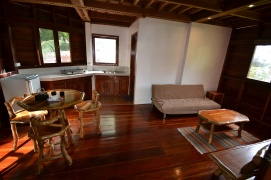 Octagon House, open kitchen